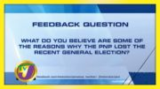 TVJ News: Feedback Question - September 14 2020 3
