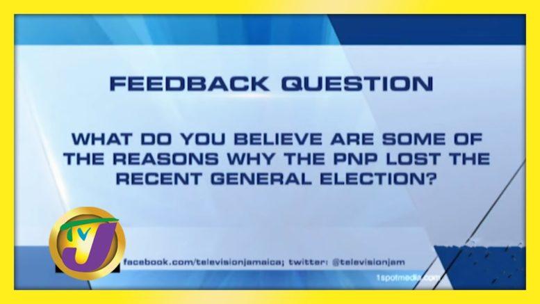 TVJ News: Feedback Question - September 14 2020 1