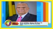 Dr. Peter Phillips Given 30 Days to Quit; Rejects PNPYO Senate List - September 15 2020 5