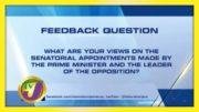 TVJ News: Feedback Question - September 15 2020 4