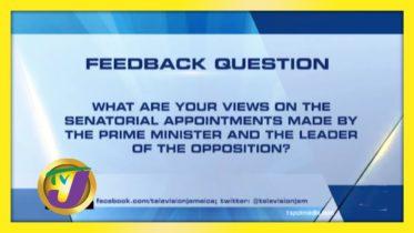 TVJ News: Feedback Question - September 15 2020 10