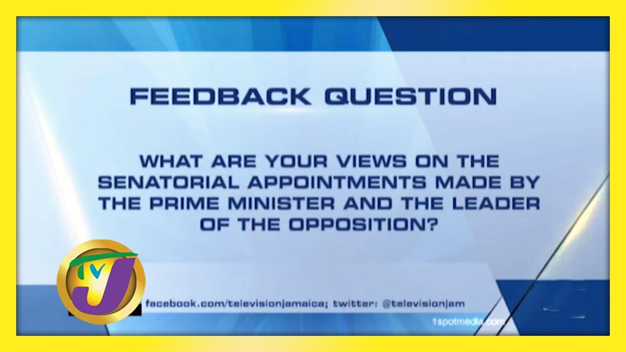 TVJ News: Feedback Question - September 15 2020 1