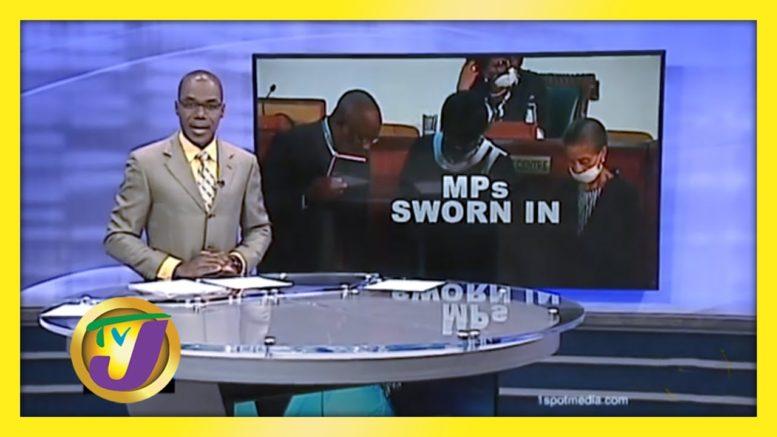 New MP's Sworn in - September 15 2020 1