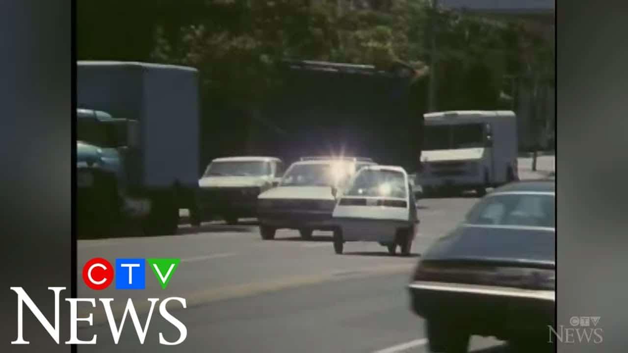 CTV News Archive: Test driving Honda's three-wheeled car 1