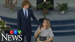 'They were the best of me': Ontario mom delivers emotional eulogy for her slain husband and children 4
