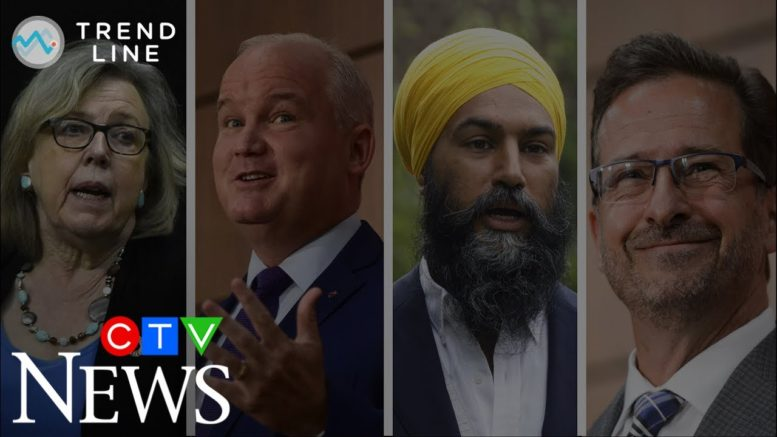 TREND LINE: A federal election could be coming soon -- here's the state of the opposition parties 1