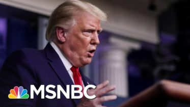 Trump: Covid-19 Deaths Are Lower If You Ignore The 'Blue States' | The 11th Hour | MSNBC 6