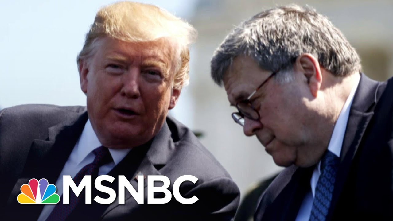 Figliuzzi: Barr Is All In For Trump, Not The Constitution | The 11th Hour | MSNBC 8