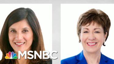 Democratic Maine Senate Candidate Leads In New Polling | Morning Joe | MSNBC 6