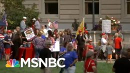Protesters Gather Outside Kentucky Supreme Court During Case On Coronavirus Restrictions | MSNBC 3