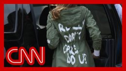 Former friend and aide explains Melania Trump's 'I don't care' jacket 2