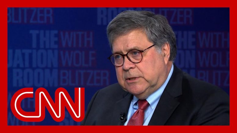 Bill Barr responds to what Trump said about him on Fox News 1