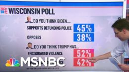 Wisconsin Poll: Majority Think Trump Has Encouraged Violence Amid Protests | Ayman Mohyeldin | MSNBC 5
