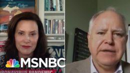 Michigan Governor On Trump's Rallies: It's So Disturbing   Katy Tur   MSNBC 4