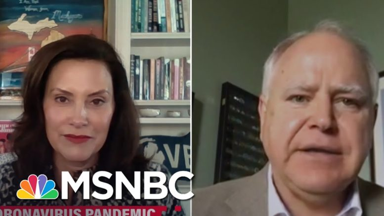 Michigan Governor On Trump's Rallies: It's So Disturbing   Katy Tur   MSNBC 1