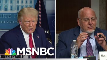 #Unbelievable: Trump Questions The Use Of Masks...Again | Katy Tur | MSNBC 6