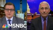Dr. Fauci Challenges Chris Hayes To A Game Of Basketball Post-Vaccine In 2021 | All In | MSNBC 5