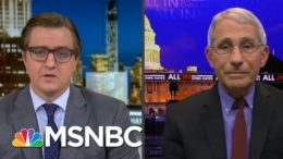 Dr. Fauci Challenges Chris Hayes To A Game Of Basketball Post-Vaccine In 2021 | All In | MSNBC 2