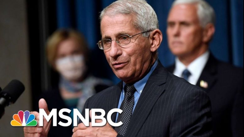 Dr. Fauci Says He Will Raise Flags If Corners Are Cut On Covid-19 Vaccine | All In | MSNBC 1