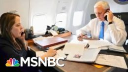 Fmr. WH Official: Pence Aide Had The 'Mark Of Courage' To Denounce Trump | The Last Word | MSNBC 6