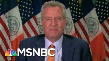 NYC Delays In-Person Classes, De Blasio Eyes Oct. 1 To Start | Morning Joe | MSNBC 6