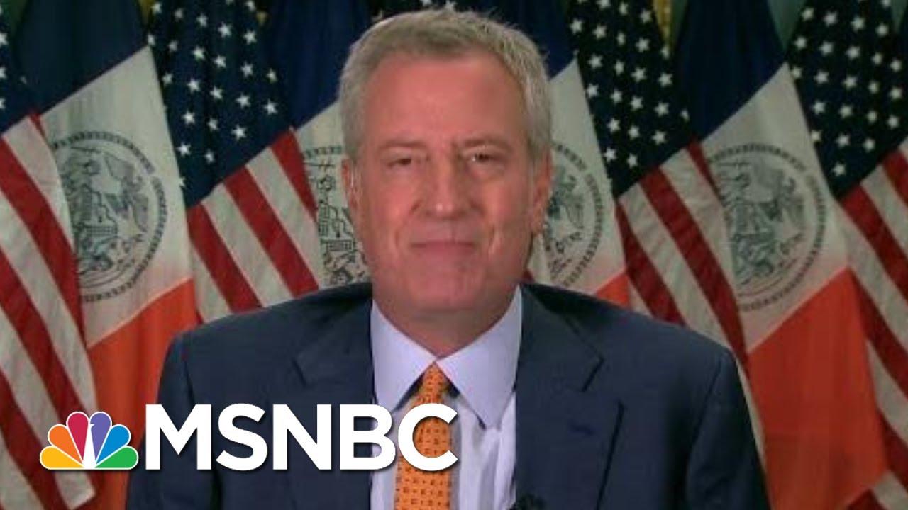 NYC Delays In-Person Classes, De Blasio Eyes Oct. 1 To Start | Morning Joe | MSNBC 1