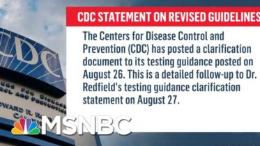 CDC Reverses Course On Testing Asymptomatic People For Covid-19 | Ayman Mohyeldin | MSNBC 6