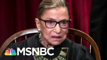 Remembering Supreme Court Justice Ruth Bader Ginsburg | The ReidOut | MSNBC 4