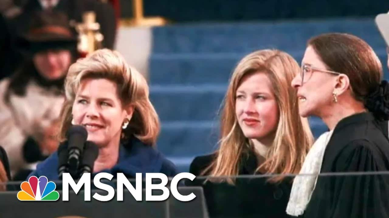 'A Devastating Loss For Justice And Equality': Hillary Clinton On The passing Of Ginsburg | MSNBC 1