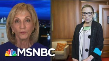 'We All Have Our Stories About Ruth Bader Ginsburg': Andrea Mitchell Remembers The Justice | MSNBC 6
