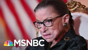 Passing Of Supreme Court Justice Ginsburg Sets Major Stakes In 2020 Election | All In | MSNBC 6