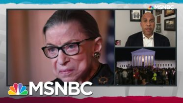 Republicans Face Test Of Honor, Integrity In Handling Of Ginsburg Seat: Sen. Booker | MSNBC 6
