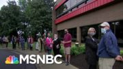 'This Is Important': Early Voters Rush To Polls After Death of Justice Ginsburg | MSNBC 3