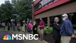 'This Is Important': Early Voters Rush To Polls After Death of Justice Ginsburg | MSNBC 4
