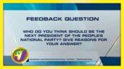 TVJ News: Feedback Question - September 16 2020 3