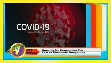 TVJ Smile Jamaica: Hot Topic - September 17 2020 5