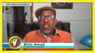 Elvis Amair a Jamaican Living in Australia: TVJ Smile Jamaica - September 17 2020 6
