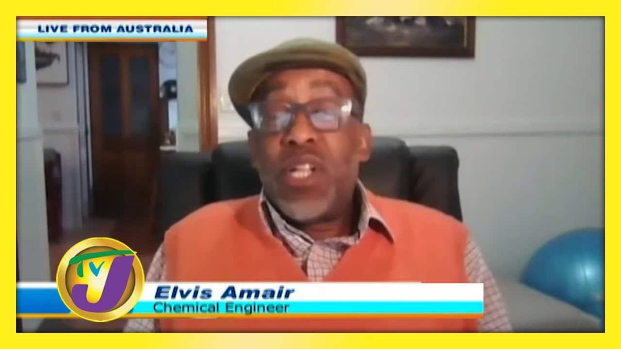 Elvis Amair a Jamaican Living in Australia: TVJ Smile Jamaica - September 17 2020 1
