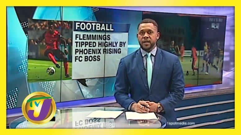 Rising FC Coach Backs Reggae Boy Flemmings for Success - September 17 2020 1