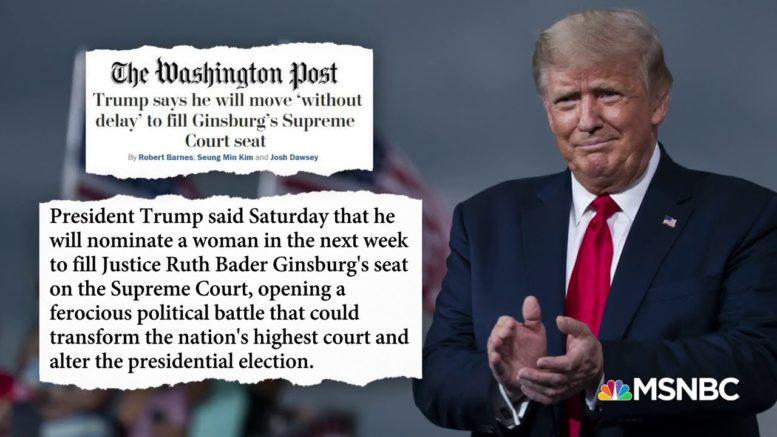 'No Proposals' From Senate Democrats To Expand The Supreme Court, Says Sen. Dick Durbin | MSNBC 1