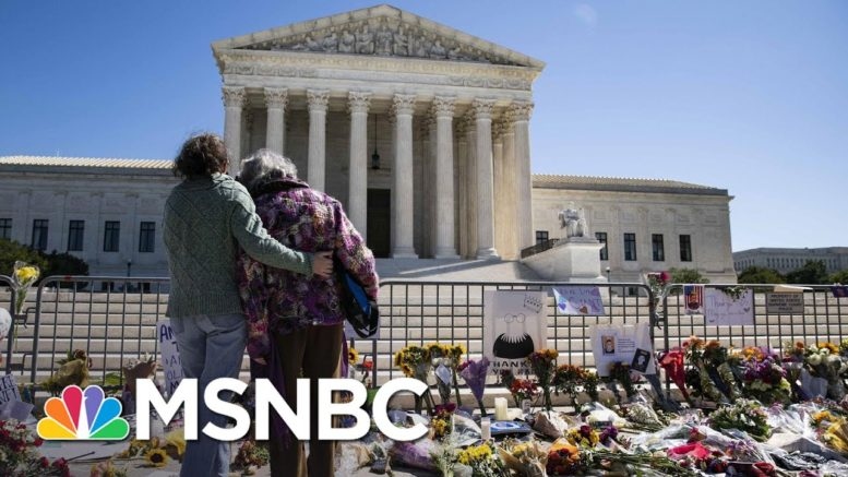 Mourner Outside Supreme Court: Justice Ginsburg Was 'Champion For Women And Equality' | MSNBC 1