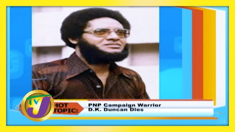 PNP Campaign Warrior DK Duncan Dies - September 18 2020 1