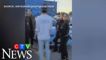 Police break up huge car meet in Ancaster, Ont. 6