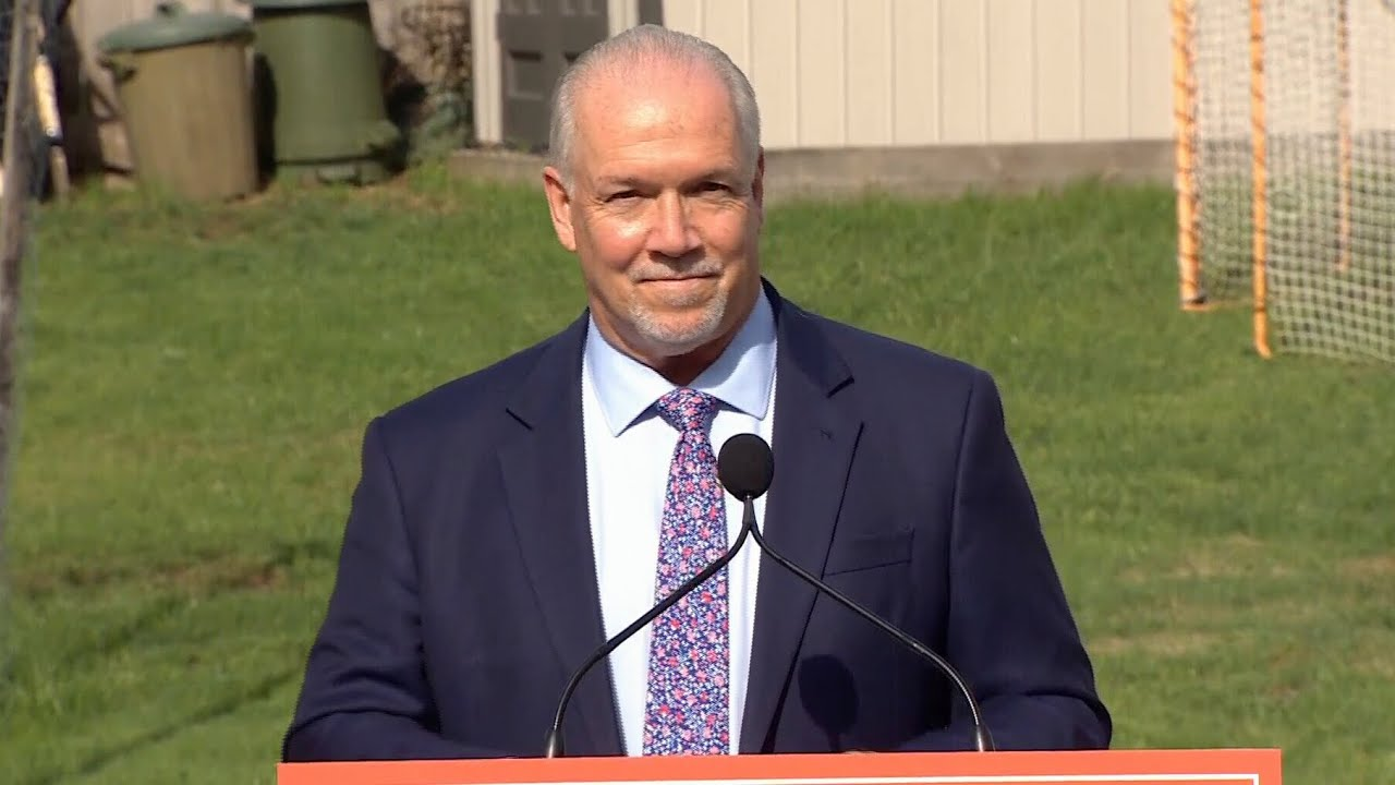 """B.C. Premier John Horgan calls a snap election: """"The pandemic has changed everything"""" 8"""