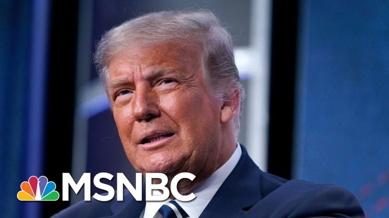 Trump Expects To Announce Supreme Court Pick This Week   Stephanie Ruhle   MSNBC 1
