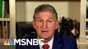 Sen. Manchin Weighs In On Filling SCOTUS Seat | MSNBC 10
