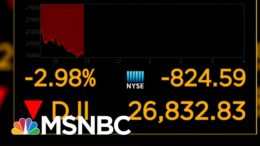 Wall Street Plummets On Fears Of Worsening COVID, Supreme Court Decision | Hallie Jackson | MSNBC 7