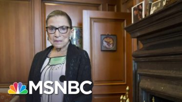 Ruth Bader Ginsburg To Lie In Repose At The Supreme Court | Craig Melvin | MSNBC 6