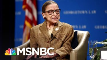 Ruth Bader Ginsburg To Lie In State At U.S. Capitol On Friday | Andrea Mitchell | MSNBC 5