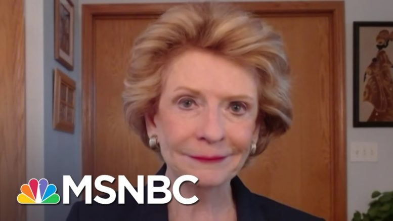 Sen. Stabenow On Justice Ginsburg: 'In Her Name, We Have To Wise Up, Fight Back And Push' | MSNBC 1